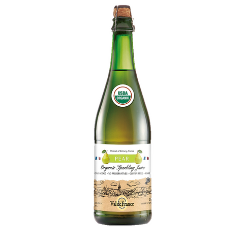 Organic Sparkling Pear Juice by Val de France 25.4 oz