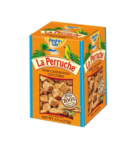 La Perruche Brown Sugar Cubes 8.8oz(250g) Case of 6 Units - Multipack
