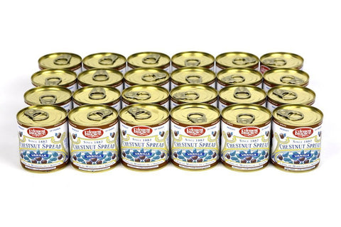 Clement Faugier Gourmet Chestnut Spread From France Vanilla 8.75oz Case of 24 Units - (Wholesale prices. Sold per case only)