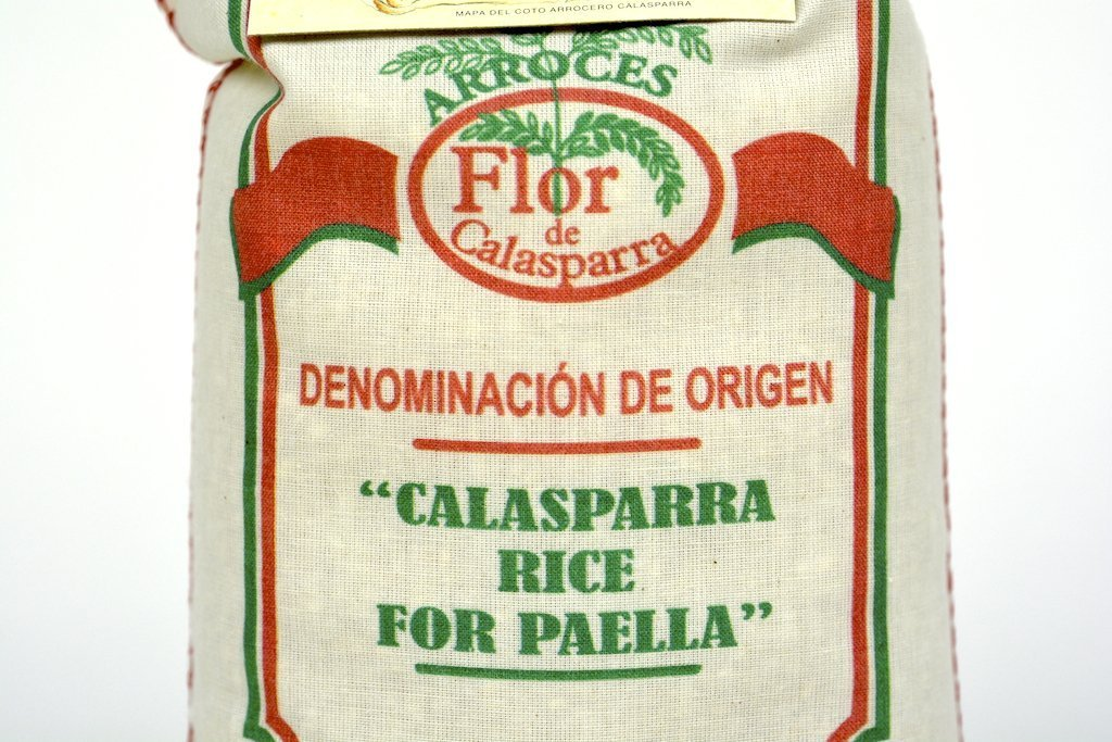 Flor de Calasparra-Calasparra Rice For Paella 1kg(35.27oz) Case of 6 Units - Multipack