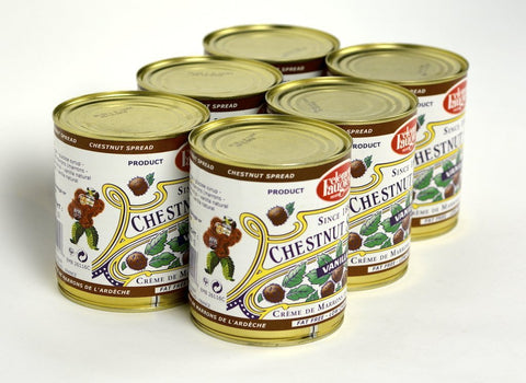Clement Faugier Gourmet Chestnut Spread From France Vanilla 31Oz Case of 6 Units - Multipack