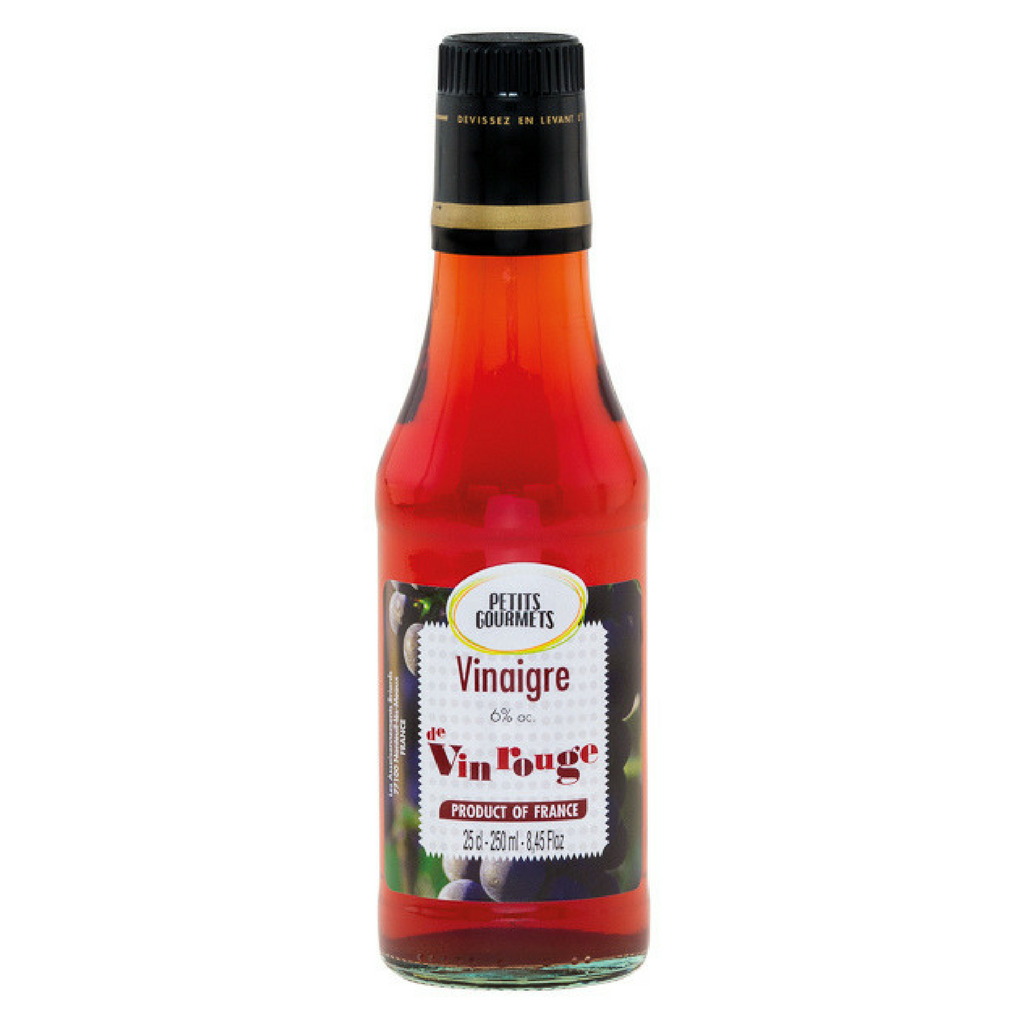 Red wine vinegar 6° 25cl