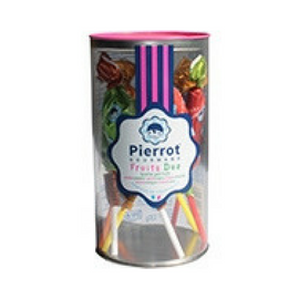 Pierrot Gourmand Fruit Duo Lollipops 4.5 oz. (130g)