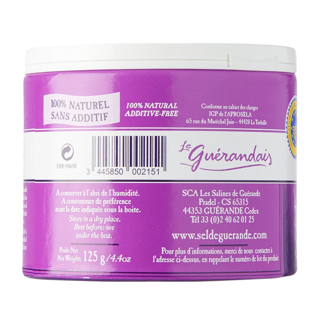 Le Guerandais Guerande 'Fleur De Sel' Sea Salt 4.4o.z (125g) Case of 12 Units - Wholesale