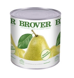 Brover William Pear Halves in light syrup - 6 x 2.65 kg (Wholesale prices. Sold per case only)