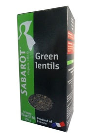 Sabarot · Green lentils wholesale (Wholesale prices. Sold per case only)
