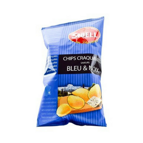 Sibell Rippled Bleu & Noix Blue Cheese and Walnut Potato Chips 4.2 oz. (120 g)