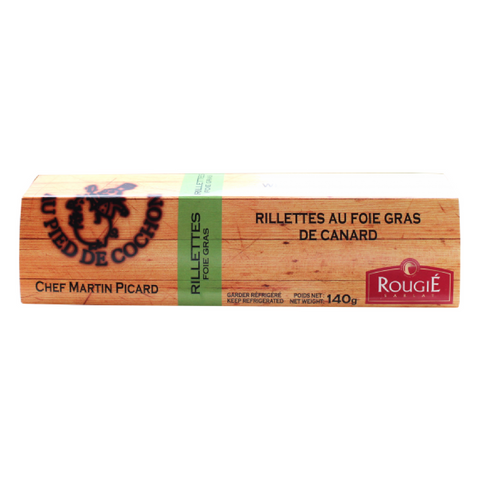 RILLETTES OF DUCK WITH 20% FOIE GRAS Rougie Wholesale