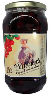 "Toques de France Les Parisiennes"" - Morello Cherries in Kirsch 15% - 6 x 1 liter (Wholesale prices. Sold per case only)"