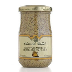 Edmond Fallot Old Fashion Dijon Mustard - 12 x 13.4 oz (Wholesale prices. Sold per case only)