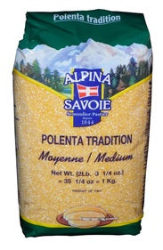 Alpina Savoie Polenta medium - 12 x 2.2 lbs (Wholesale prices. Sold per case only)