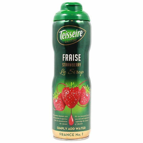 Teisseire French Strawberry Syrup 20 oz