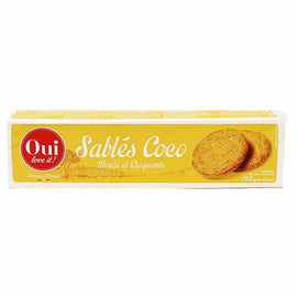 Oui Love It Sables Coco Coconut Biscuits 4.4 oz. (125g)
