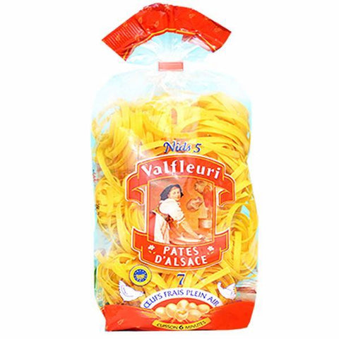 Valfleuri Nid 5 Tagliatelle Egg Pasta from Alsace 8.8 oz. (250g)