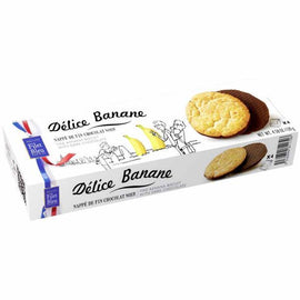 Filet Bleu Banana Biscuit with Dark Chocolate 4.5 oz. (130g)