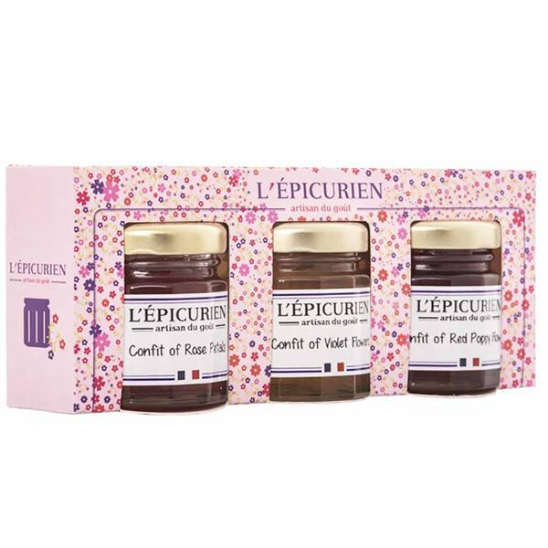 Epicurien Mini Flower Confit Set 5.2 oz. (150g)