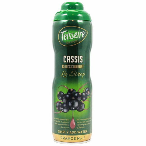 Teisseire French Blackcurrant Syrup 20 oz - Le Tablier Bleu - Best Price
