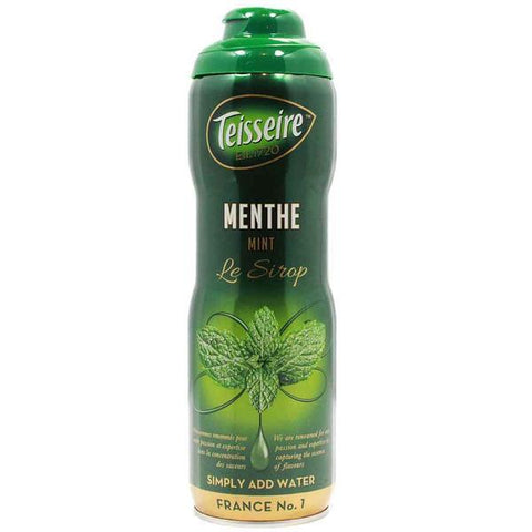 Teisseire French Mint Syrup 20 oz - Le Tablier Bleu - Best Price