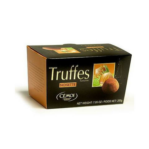 Cemoi Truffes Fantaisie - Chocolate truffles with hazelnut · 200g (7 oz)