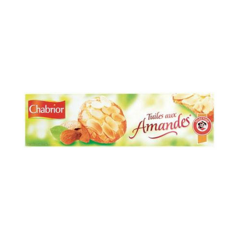 Chabrior Tuiles French Almond Cookies 3.5 oz. (100g)