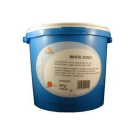 Caullet Fondant (White Icing Sugar) - 17.6 lbs (Wholesale prices. Sold per case only)