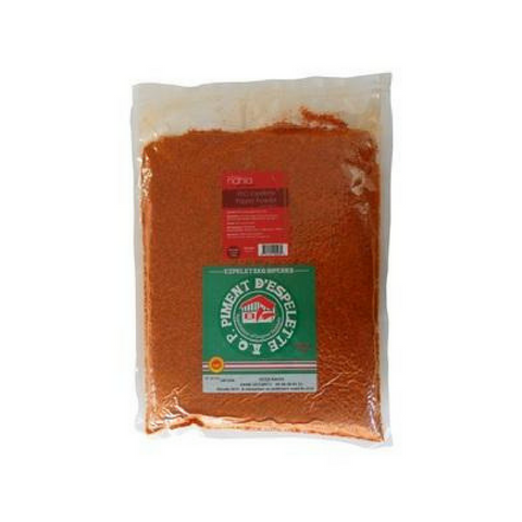 Espelette Pepper Powder - 3 x 2.2 lbs - bag (Wholesale prices. Sold per case only)
