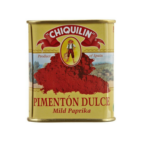 Chiquilin Pimenton Dulce Mild Paprika 2.64 oz Tin (12 Pack, Case) Wholesale