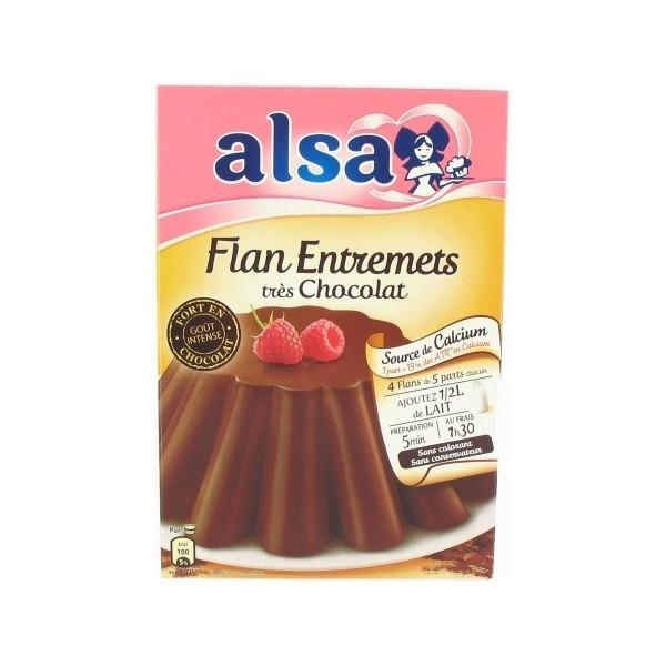 Alsa · Chocolate flan mix
