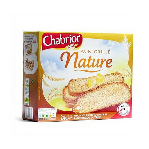 Chabrior · Pain grillé · Tosted French Bread 500g (17.6 oz)