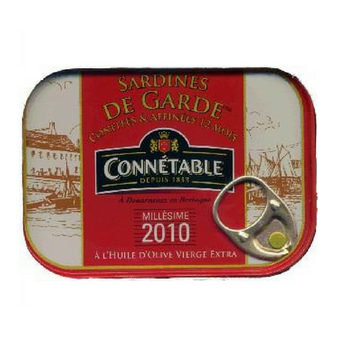 Connétable · Sardines de garde in olive oil · 115g (4.1 oz)