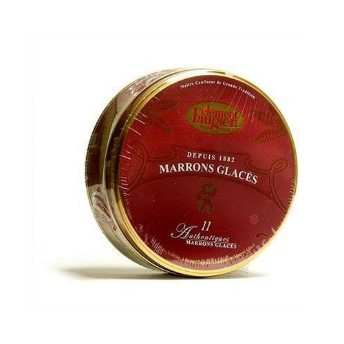 Clement Faugier Candied Chestnuts - 7.76 oz. French Marrons Glaces