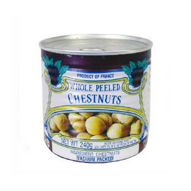 Clément Faugier · Whole chestnuts, vacuum-packed, can · 240g (8.5 oz)