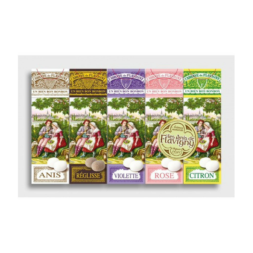 Anis de Flavigny Assorted 5 Box Set 3.1 oz. (89g)