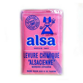 Alsa · Baking powder, pack of 7 sachets