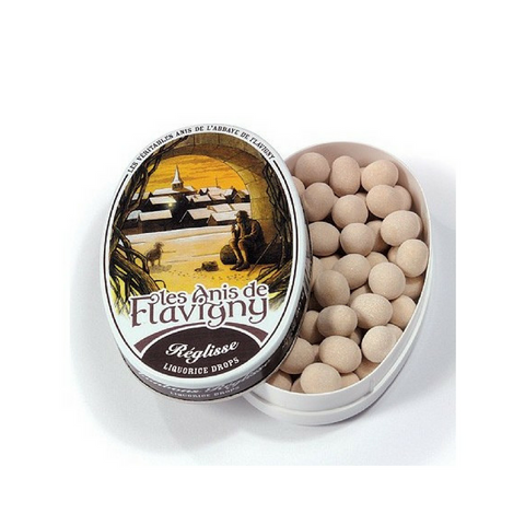 Anis de Flavigny Licorice, Orange and Rose Pastilles (3 Tins)