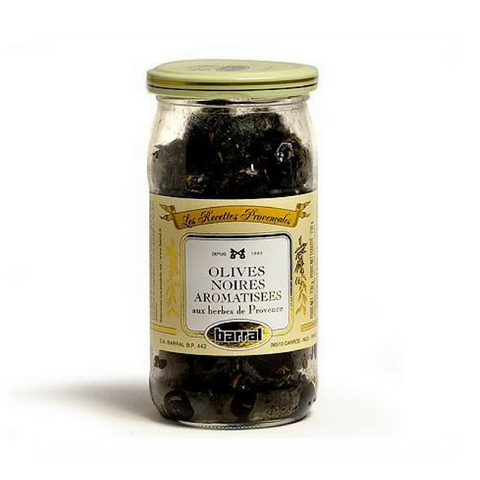 Barral French Black Olives with Provence Herbs