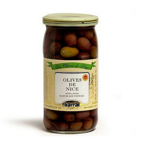 Barral · Black Niçoise olives · 230g (8.1 oz)