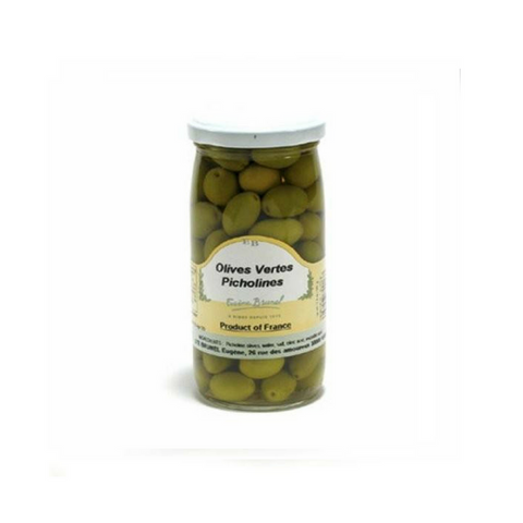 Brunel · Green Picholine olives · 200g (7 oz)