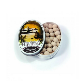 Abbaye de Flavigny · Licorice pastilles, oval tin · 50g (1.8 oz)