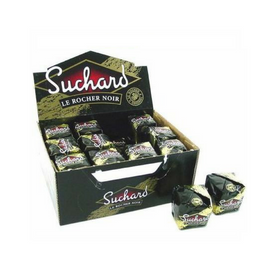 Suchard Rocher Dark Chocolate Imported from France - Box of 24 (31.3 oz)