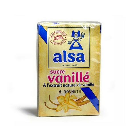 Alsa · Vanillin flavored sugar, pack of 12 sachets