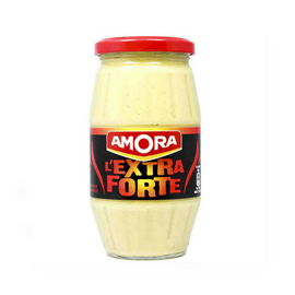 Amora French Dijon Mustard Extra Strong 15.5 oz