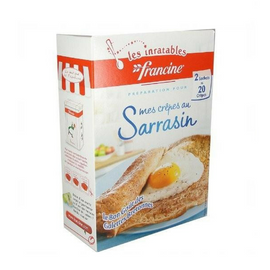 French Buckwheat Crepes  Francine-  Crepes au Sarrasin