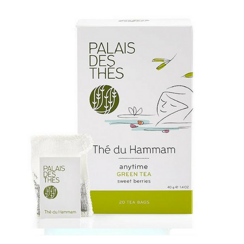 THÉ DU HAMMAM green tea Signature Tea Blend from Paris - Palais Des Thes