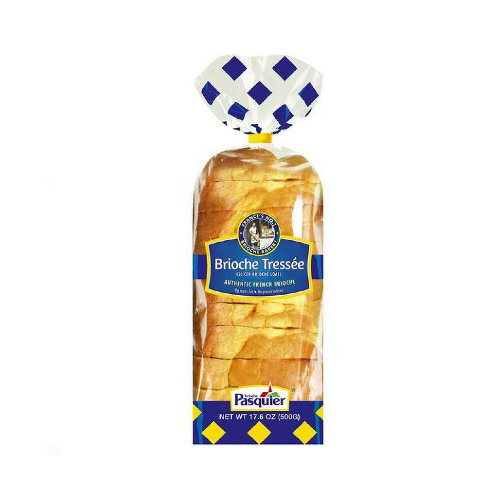 Brioche Pasquier Authentic French Sliced Brioche 17.6 oz. (500g)