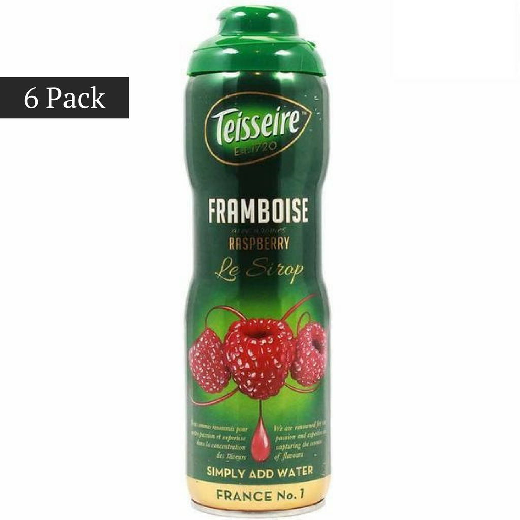 Teisseire French Raspberry Syrup (20 oz. x 6)