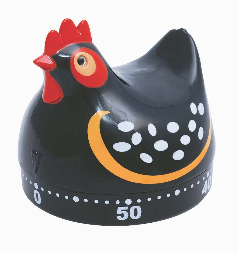 Kitchen Timer - Black Hen
