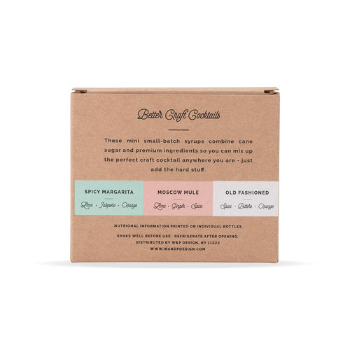 Cocktail Syrup 29.5 ml - Set of 3