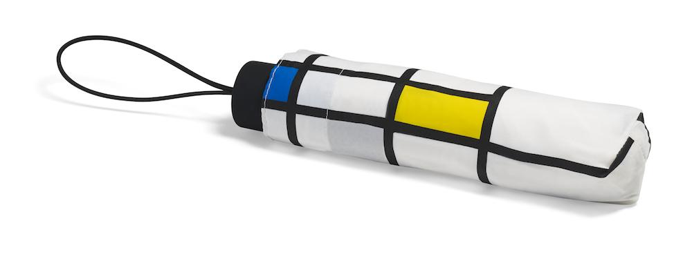 Mondrian White Mini Umbrella