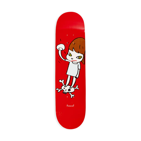 Kusama Skateboard - Black Small Dots